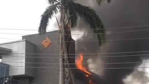 Fire at Access Bank
