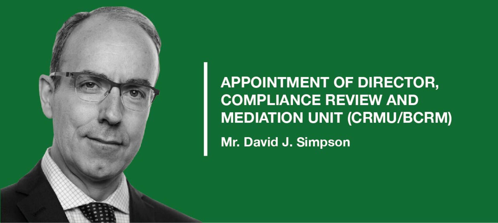 AfDB new appointment
